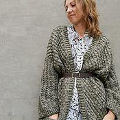 Одежда handmade. Livemaster - original item Long warm cardigan for women. Handmade.