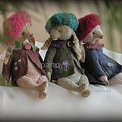 """Куклы и игрушки ручной работы. Ярмарка Мастеров - ручная работа Зайка  коллекция """"Подснежники"""". Handmade."""