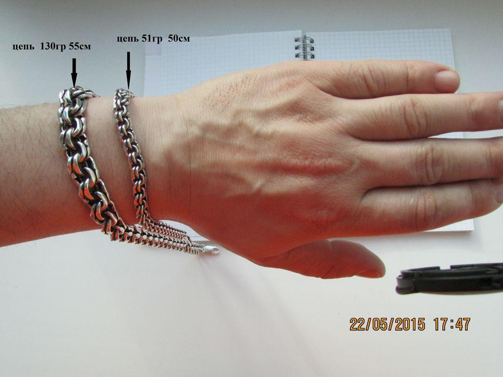 Цепочка браслет на руку купить
