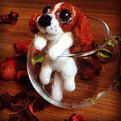 Куклы и игрушки ручной работы. Ярмарка Мастеров - ручная работа Спаниелька. Handmade.
