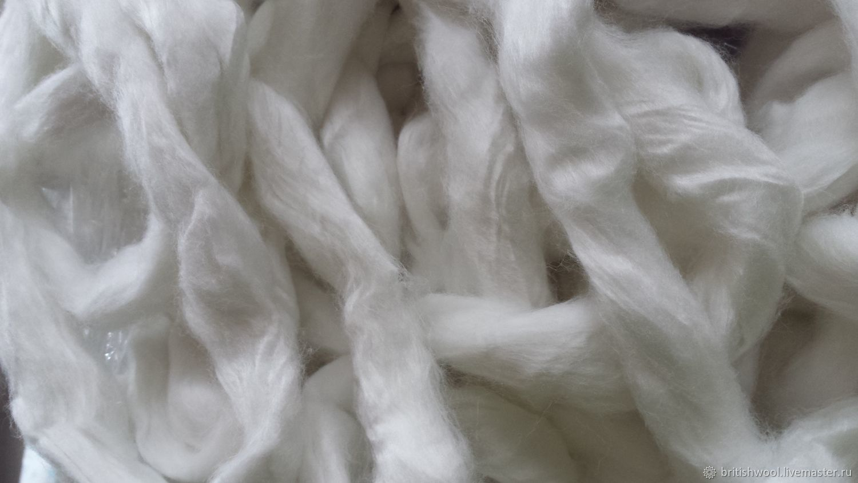 """ручной работы. Ярмарка Мастеров - ручная работа. Купить Волокно """" Перл"""". 50гр. Handmade. Валяние, волокна для валяния"""