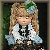 Куклы и игрушки ручной работы. Ярмарка Мастеров - ручная работа Ксюша. Текстильная кукла.. Handmade.