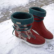 """Обувь ручной работы. Ярмарка Мастеров - ручная работа Ботинки """"Весна"""". Handmade."""