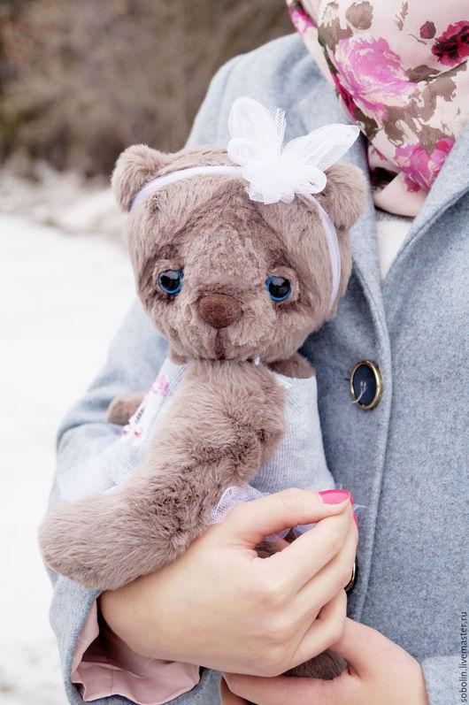 """Мишки Тедди ручной работы. Ярмарка Мастеров - ручная работа. Купить """"Cute friends"""" LI bear - Мишка Бети. Handmade."""
