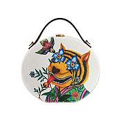 Сумки и аксессуары handmade. Livemaster - original item Women`s Gucci bag made of wood with hand-painted. Handmade.
