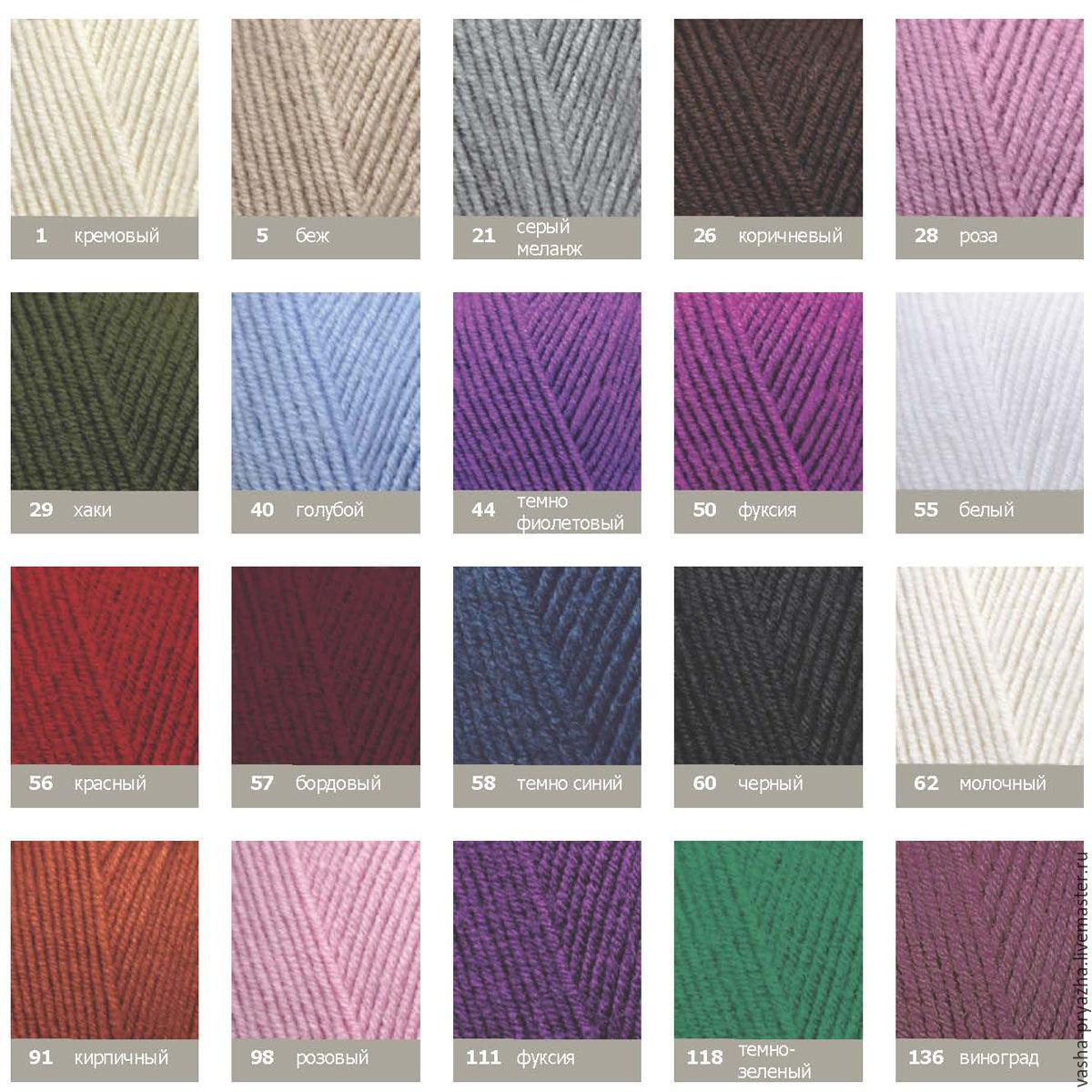 Вязание из ализе голд