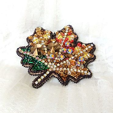 Decorations handmade. Livemaster - original item Brooch