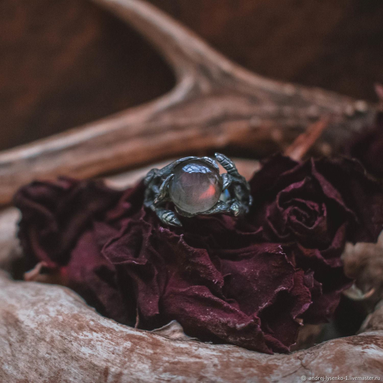 """Кольцо с лабрадором """"закатная дымка"""", Кольца, Краснодар,  Фото №1"""