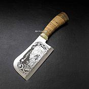 Для дома и интерьера handmade. Livemaster - original item Utensils: The cleaver (chopper). Handmade.