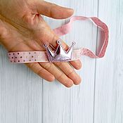 Работы для детей, handmade. Livemaster - original item Headband, headband for girls, crown. Handmade.