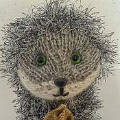 """Куклы и игрушки ручной работы. Ярмарка Мастеров - ручная работа Вязаная игрушка """"Ежик без тумана"""". Handmade."""