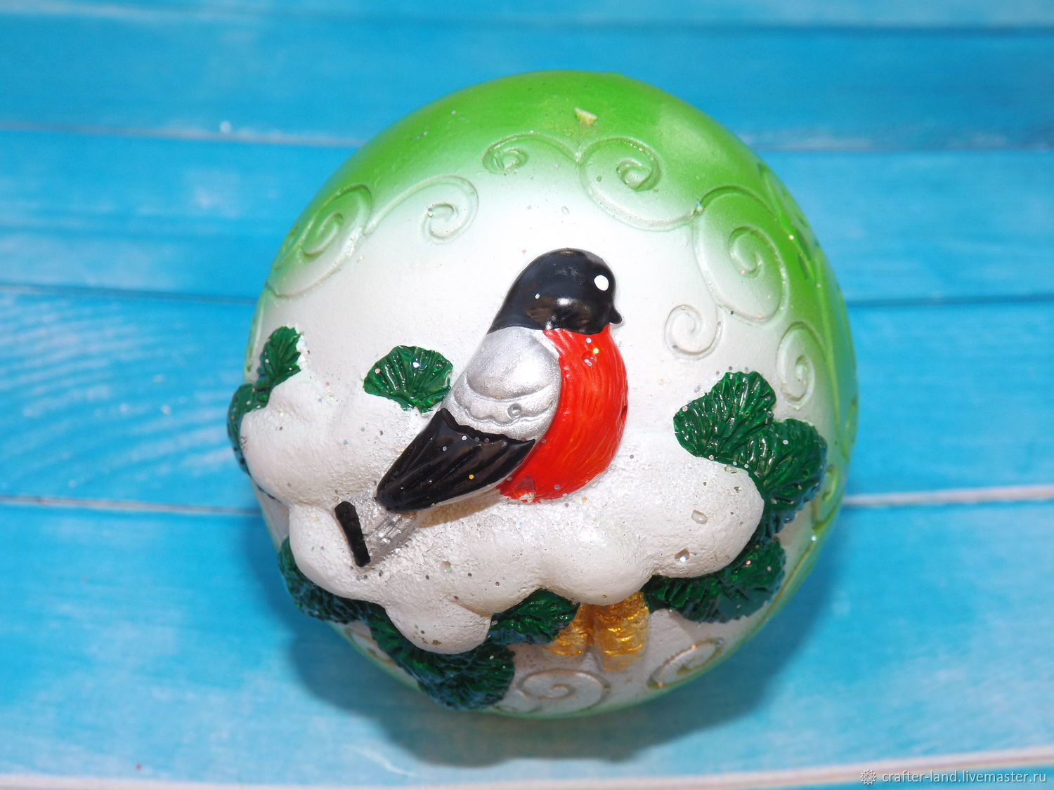 Silicone mold 'Christmas ball', Form, Moscow,  Фото №1
