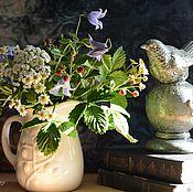 Цветы и флористика handmade. Livemaster - original item Summer bouquet from polymer clay(cold porcelain). Handmade.