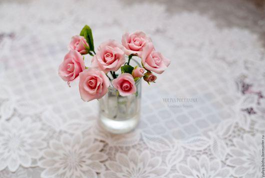 """Свадебные украшения ручной работы. Ярмарка Мастеров - ручная работа. Купить Набор шпилек для волос """"Розовая мечта"""". Handmade."""