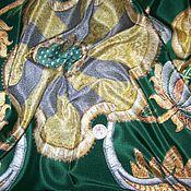 Материалы для творчества ручной работы. Ярмарка Мастеров - ручная работа Итальянский натуральный шелк платочный. Handmade.