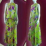 Одежда handmade. Livemaster - original item Dress summer chiffon with full skirt