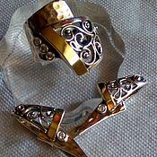 Украшения ручной работы. Ярмарка Мастеров - ручная работа Серебро в кружевах. Handmade.