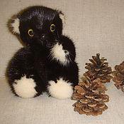 Куклы и игрушки ручной работы. Ярмарка Мастеров - ручная работа Мишка тэдди из меха норки. Handmade.