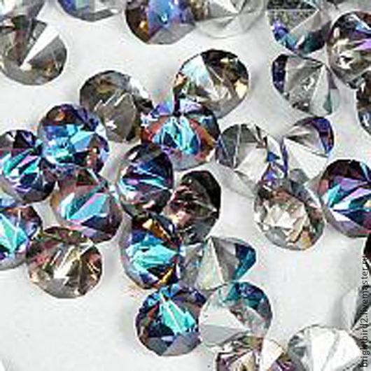 Для украшений ручной работы. Ярмарка Мастеров - ручная работа. Купить Ост. 0 шт. Насыпка для браслетов  1,8мм кристаллы  Crystal VL. Handmade.