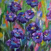 """Картины и панно ручной работы. Ярмарка Мастеров - ручная работа Картина """"Фиолетовый ноктюрн"""". Handmade."""