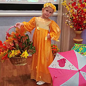 """Платья ручной работы. Ярмарка Мастеров - ручная работа Платье нарядное для девочки """"Золотая осень"""". Handmade."""