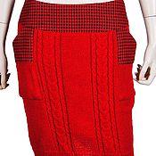 Одежда ручной работы. Ярмарка Мастеров - ручная работа Вязаная юбочка. Handmade.