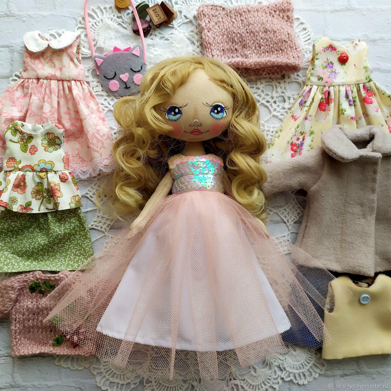 Кукла игровая,текстильная.кукла с одеждой,одежда для куклы ...