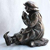 Для дома и интерьера ручной работы. Ярмарка Мастеров - ручная работа девочка греющая руки. Handmade.