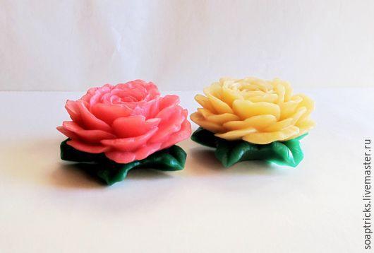 Мыло ручной работы. Ярмарка Мастеров - ручная работа. Купить Мыло Роза большая. Handmade. Комбинированный, мыло ручной работы