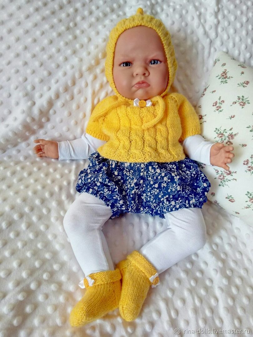 Комплект одежды для куклы 52 см, Одежда для кукол, Краснодар,  Фото №1