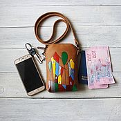Сумки и аксессуары handmade. Livemaster - original item Handbag for the phone