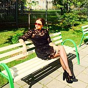 Одежда handmade. Livemaster - original item Lace suit, lace skirt and blouse. Handmade.