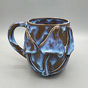 Посуда handmade. Livemaster - original item Anthracite pottery mug