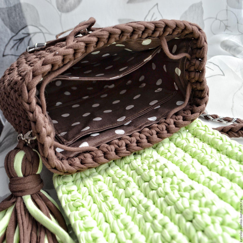 рюкзак сова крючком из трикотажной пряжи