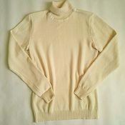 Одежда ручной работы. Ярмарка Мастеров - ручная работа Кашемировый свитер.. Handmade.