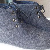 Обувь ручной работы handmade. Livemaster - original item Sneaker chuni male. Handmade.