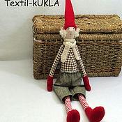 Куклы и игрушки ручной работы. Ярмарка Мастеров - ручная работа Эльф - текстильная кукла. Handmade.