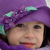 """Работы для детей, ручной работы. Ярмарка Мастеров - ручная работа Шляпка детская """"Маленькая леди"""". Handmade."""