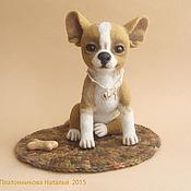 Куклы и игрушки ручной работы. Ярмарка Мастеров - ручная работа собака Трифон. Handmade.