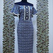 """Одежда ручной работы. Ярмарка Мастеров - ручная работа Авторское платье """"Жаклин"""". Handmade."""