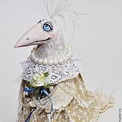 Куклы и игрушки ручной работы. Ярмарка Мастеров - ручная работа Белая ворона - авторская кукла со скидкой. Handmade.