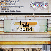"""Бумага ручной работы. Ярмарка Мастеров - ручная работа Бумага для скрапбукинга """"Lost and found"""". Handmade."""