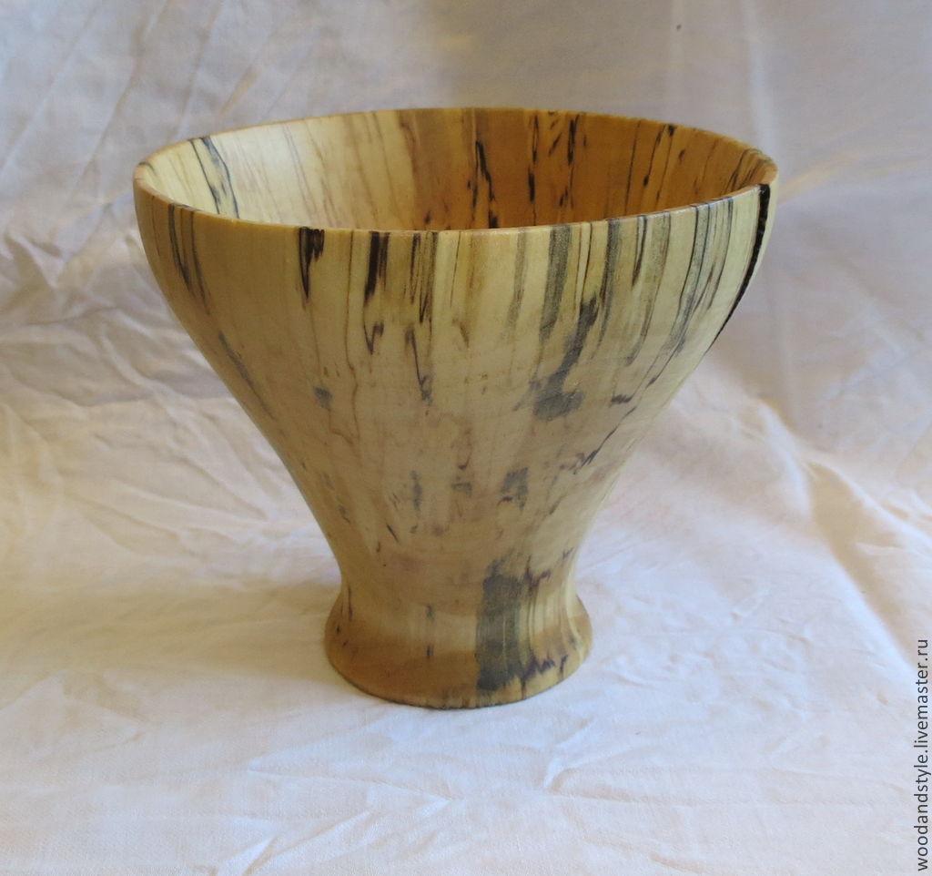 Декоративные вазы из березы