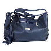 Сумки и аксессуары handmade. Livemaster - original item Bag with shoulder strap external pocket and tassel. Handmade.