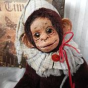 """Куклы и игрушки ручной работы. Ярмарка Мастеров - ручная работа Обезьянка """"Гриша"""". Handmade."""