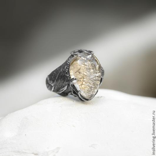 """Кольца ручной работы. Ярмарка Мастеров - ручная работа. Купить Кольцо """"Леда"""". Handmade. Серебряный, кольцо из серебра, insilver"""