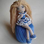 Куклы и игрушки ручной работы. Ярмарка Мастеров - ручная работа Кукла, вязаная крючком. Handmade.