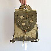 """Рюкзаки ручной работы. Ярмарка Мастеров - ручная работа Рюкзак-сумка  """"Монстера"""". Handmade."""