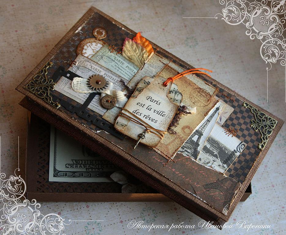 Подарочная коробочка для мужчины своими руками