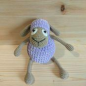 Мягкие игрушки ручной работы. Ярмарка Мастеров - ручная работа Мягонькая овечка. Handmade.